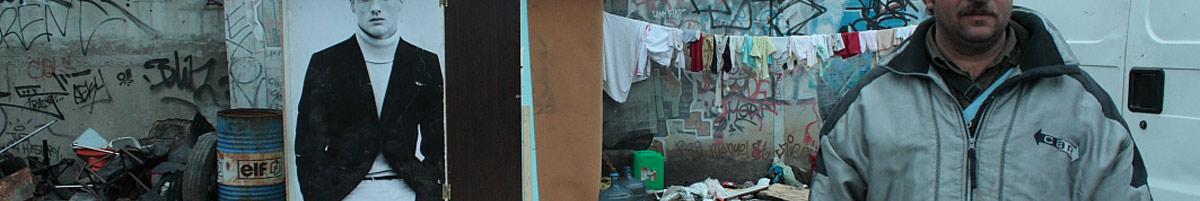 campement roms migrants